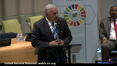 Josaia Voreqe Bainimarama (Fiji), High-level Signature Ceremony for the Paris Agreement, National Statements